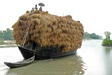 Transportation in Boat